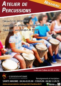 Affiche percussions web